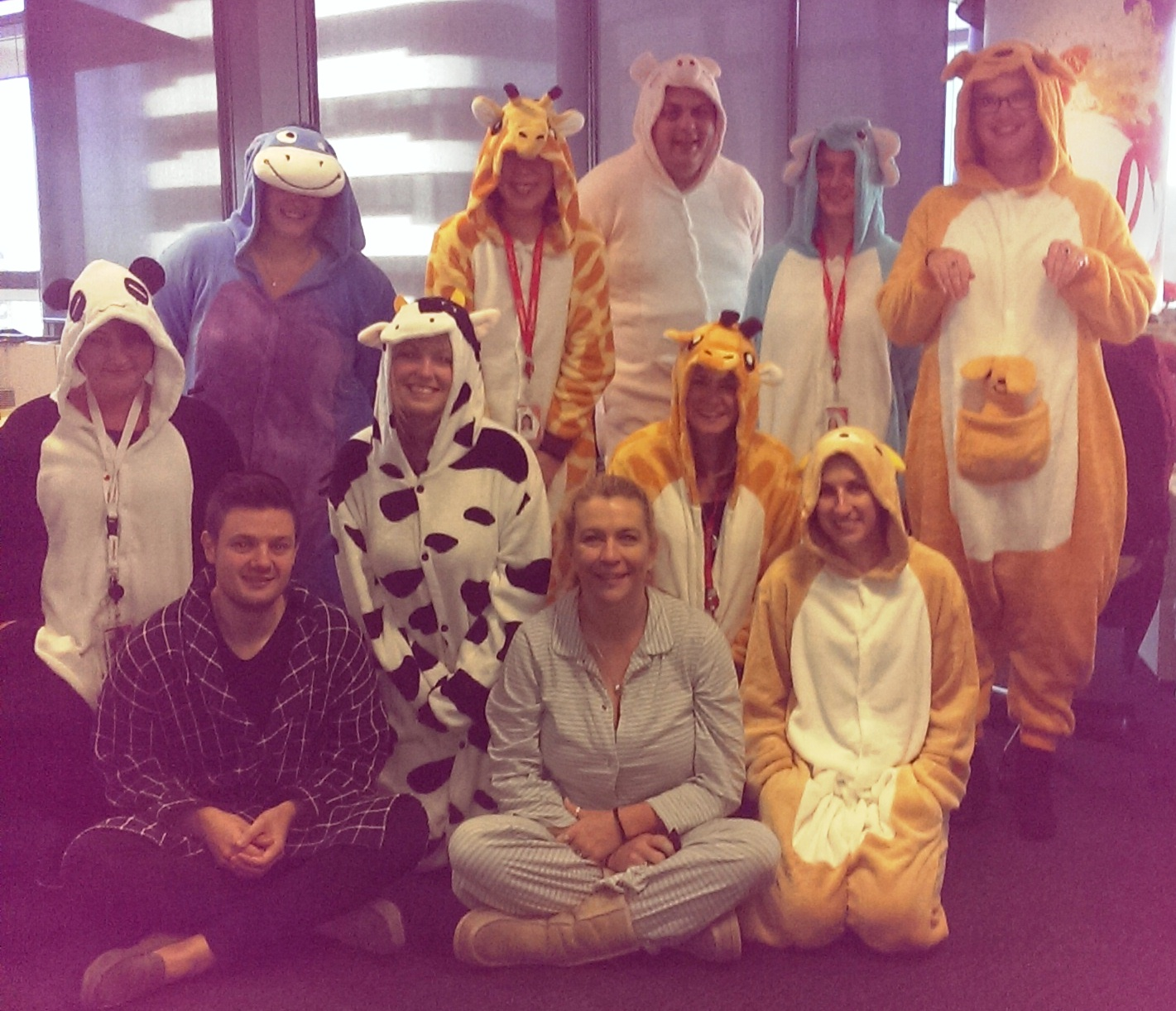 PJ day Payroll team - vodafone
